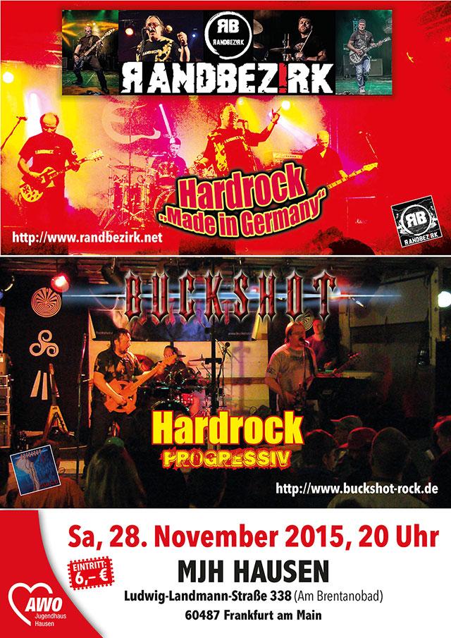 Buckshot Gig in Frankfurt